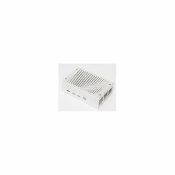 Kryt Raspberry case Alu pro Raspberry Pi 4 B, stříbrná (Joy-it)