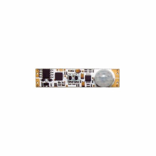 Pohybový spínač TLE PIR1L pro LED pásky 12-24V do profilů