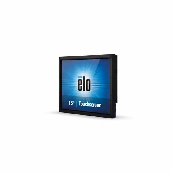 """Dotykový monitor ELO 1590L, 15"""" kioskové LED LCD, SecureTouch (SingleTouch), USB/RS232, VGA/HDMI/DP, matný, černý, bez z"""