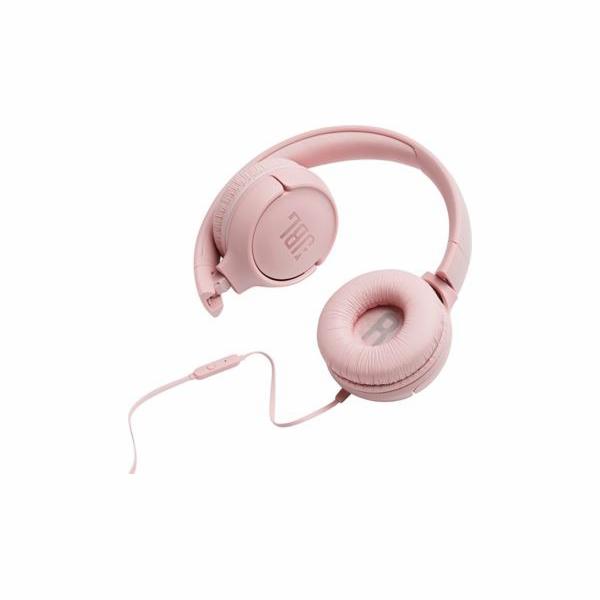 Sluchátka JBL Tune 500 růžová