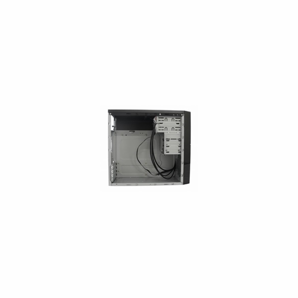 EUROCASE skříň MC 278 EVO black, micro tower, 2xAU, 2x USB 2.0, 1x USB 3.0, bez zdroje