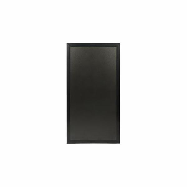 Tabule Securit MULTIBOARD informační/reklamní na popis křídou 670x1150mm, Black
