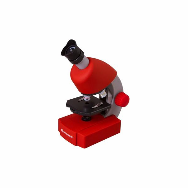 Mikroskop Bresser Junior 40x-640x red