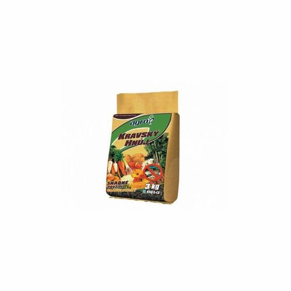 Hnojivo Agro Pravý kravský hnůj 10 kg