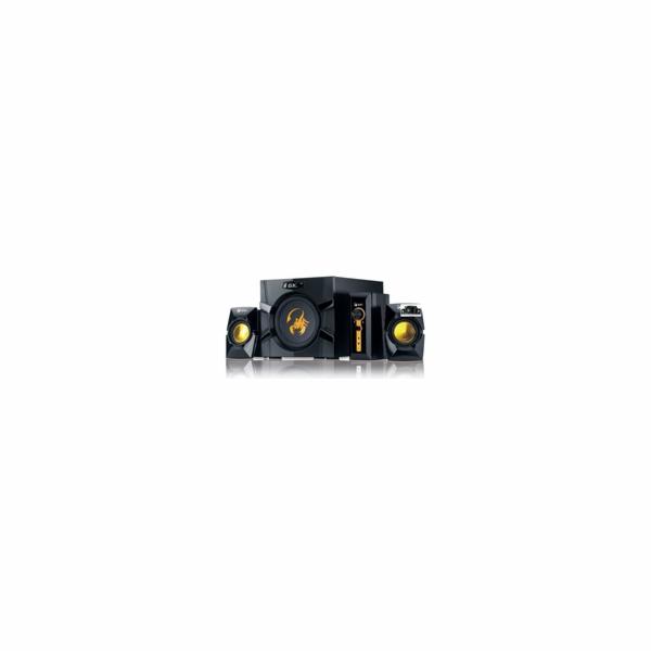 GENIUS reproduktory GX GAMING SW-G2.1 3000 Ver.II, 2.1, 80W, černá