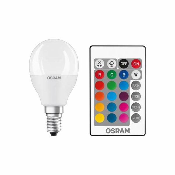 OSRAM LED STAR+ CL P RGBW Fros. 5,5W 827