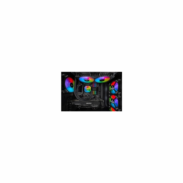 CORSAIR vodní chlazení iCUE H115i ELITE CAPELLIX, 280mm Radiator, Dual 140mm ML RGB Fans, Software Control