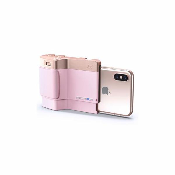 Fotodoplněk Miggo PICTAR Smart Grip růžový