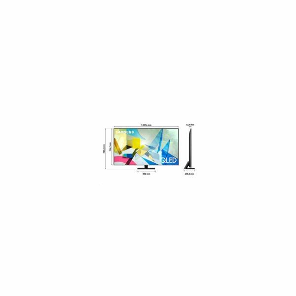 Televize Samsung QE55Q80T QLED ULTRA HD LCD