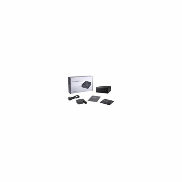 """ASUS PC PN62 - I3-10110U, bez RAM, M.2 + 2,5"""" slot, intel HD, WiFi, BT, DP, bez OS, černý"""