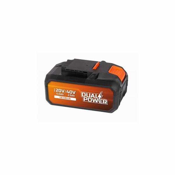 Baterie Powerplus POWDP9038 40 V Li-Ion 2,5 Ah LG články