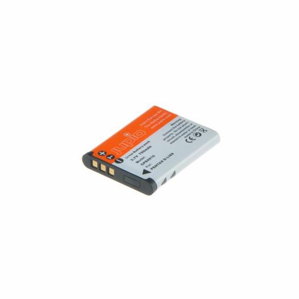 Baterie Jupio D-Li88/ DB-L80/ VW-VBX070 for Panasonic 650 mAh pro Pentax, Sanyo, Panasonic