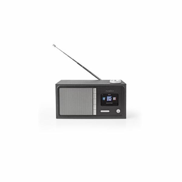 Rádio Nedis internetové RDIN3000BK Bluetooth® / Wi-Fi / FM / Internet