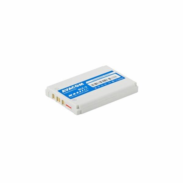 Baterie Avacom pro Nokia 3310, 3410, 3510 (náhrada BLC-2) Li-ion 3,6V 1100mAh - neoriginální