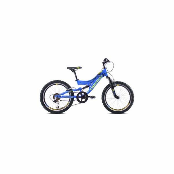 """Celoodpružené jízdní kolo Capriolo CTX200 20"""" blue-yellow"""