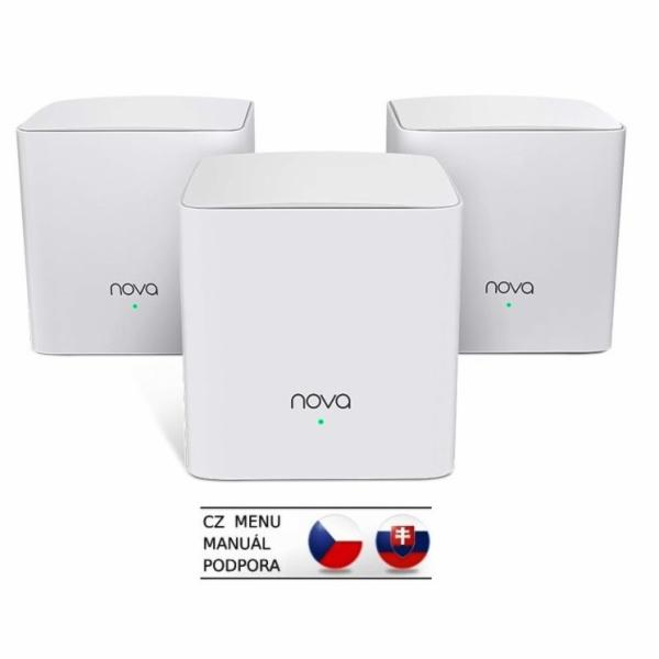 Tenda MW5c (3-pack) - Wireless AC MESH systém 802.11ac/a/b/g/n
