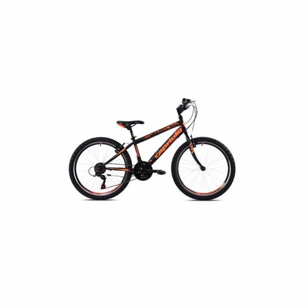 """Horské jízdní kolo Capriolo RAPID 240 24""""/18HT black orange"""