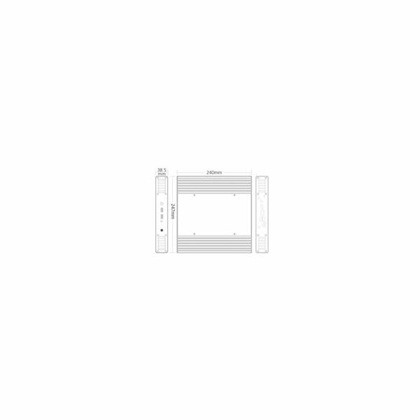 skříň AKASA Plato X8 (pasiv)