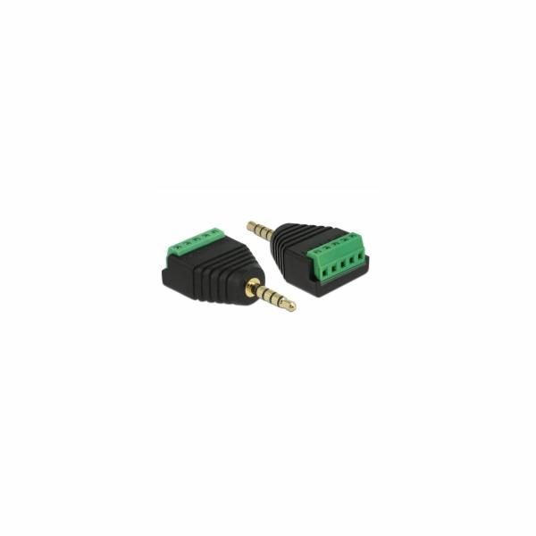 Adapter Klinkenstecker 3,5mm >Terminalblock 5Pin