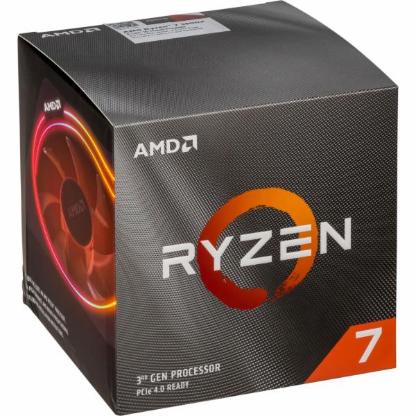 AMD Ryzen 7 3800x Box AM4 Wraith Prism cooler 7nm