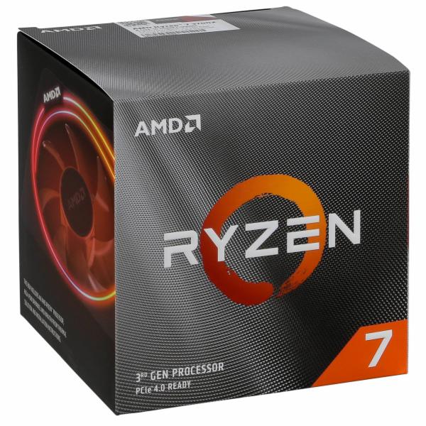 AMD Ryzen 7 3700x Box AM4 Wraith Spire cooler s RGB LED