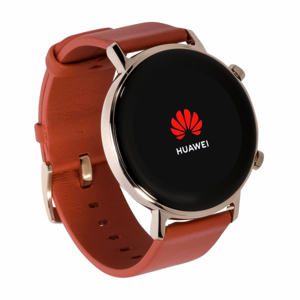 HUAWEI Watch GT 2 Elegant 42mm chestnut cervena