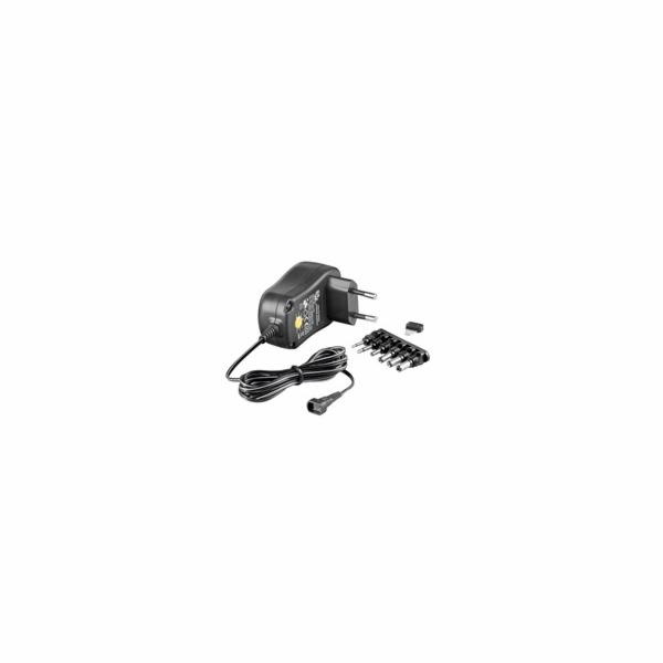 Goobay Univerzální napájecí adaptér 230V/3-12V stejnosměrný 1000mA