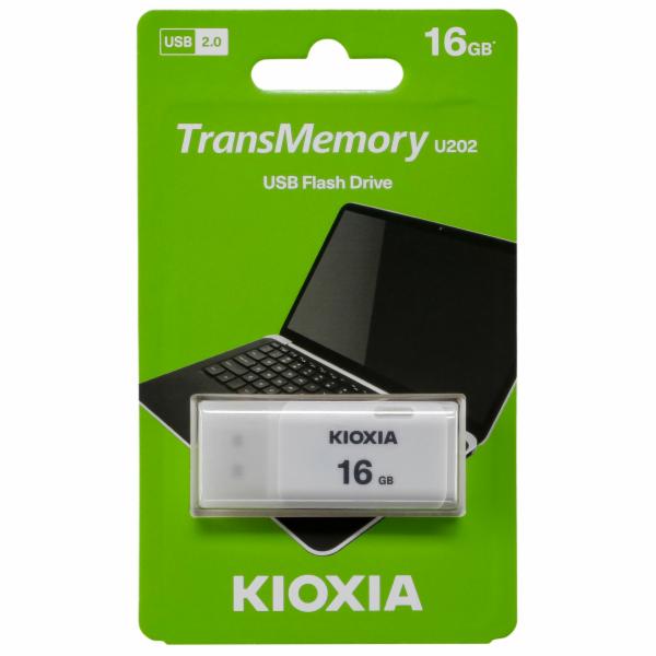 Kioxia U202 Hayabusa bila USB tyc USB 2.0 16GB
