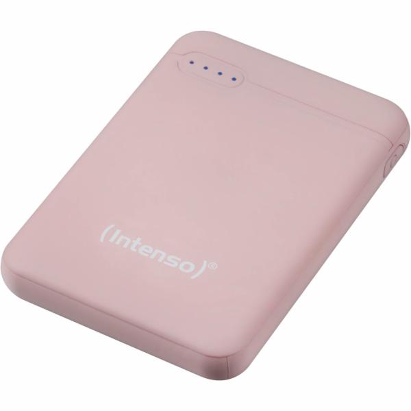 Intenso Powerbank XS5000 rosé 5000 mAh vc. USB-A to Type-C