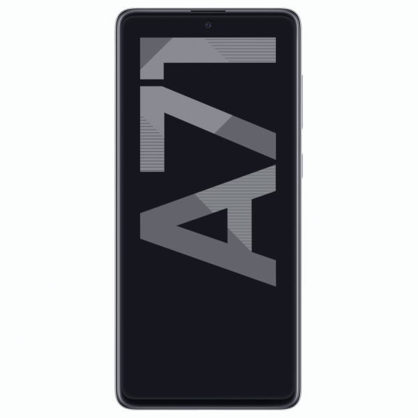 Samsung Galaxy A71 Haze Crush stribrna