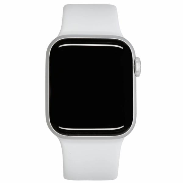 Apple Watch SE GPS 44mm stribrna Alu bila sportovni naramek
