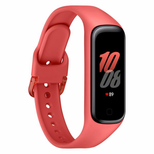 Samsung Galaxy Fit2 cervené