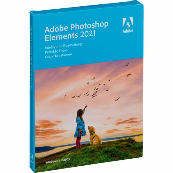 Adobe Photoshop Elements 2021 krabicové balení, 1 uzivatel