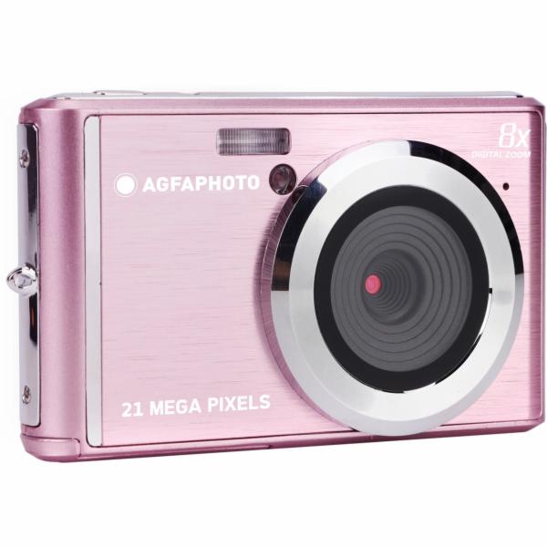 AgfaPhoto Compact Cam DC5200 ruzová