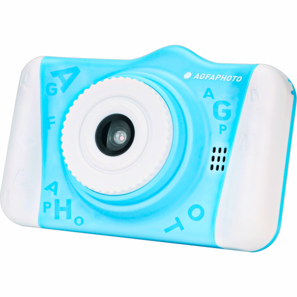 AgfaPhoto Realikids Cam 2 fotoaparát pro deti modrý