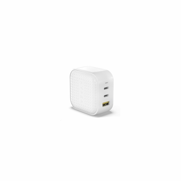HyperJuice 66W GaN – USB nabíjecí adaptér, bílý