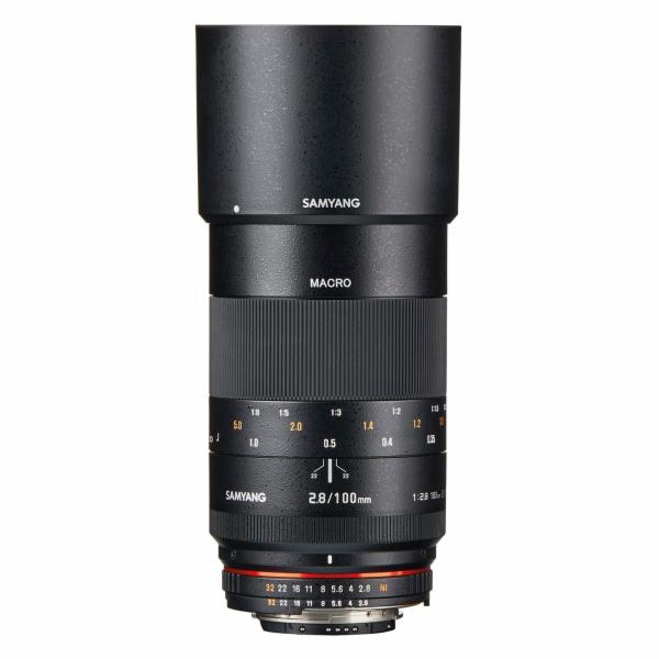 Samyang MF 2,8/100 Makro DSLR Nikon F AE