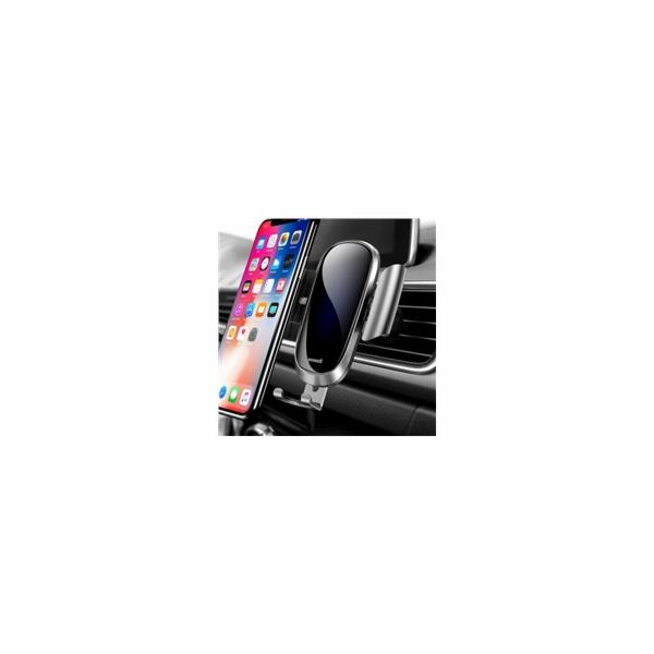 Baseus Future Gravity držák do auta (do ventilační mřížky), stříbrná
