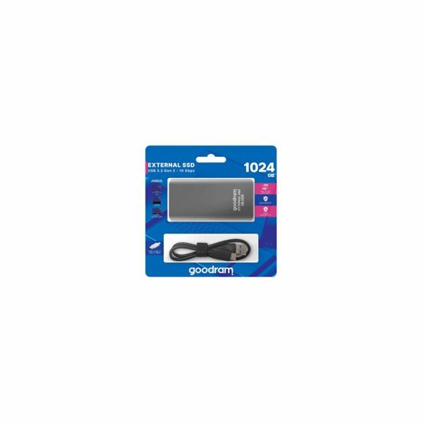 GOODRAM externí SSD HL100, USB-C, 2TB