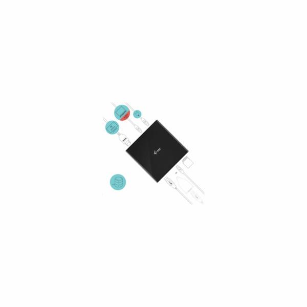 i-tec dokovací stanice USB-C Storage Dock 4K/ HDMI/ USB 3.0/ USB-C/ SD/ Power Delivery 85W