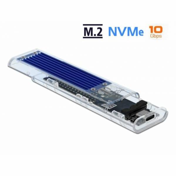 Externes Gehäuse für M.2 NVMe PCIe SSD, Laufwerksgehäuse