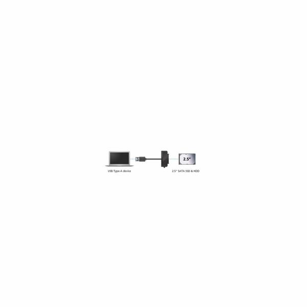 """AKASA adaptér kabel USB 3.1 Gen 1 pro 2.5"""" SATA SSD & HDD"""