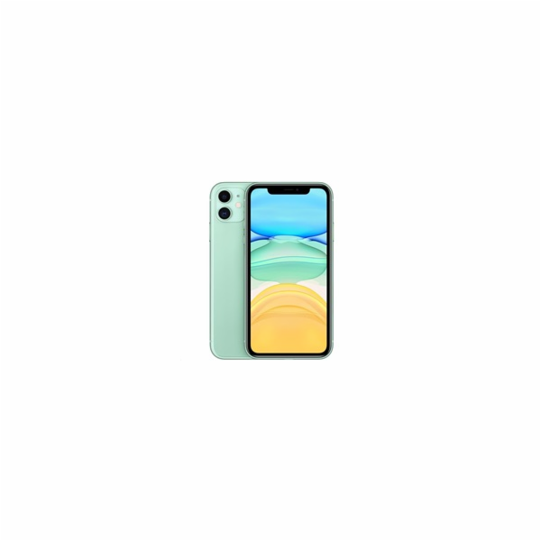 Apple iPhone 11 15.5 cm (6.1 ) Dual SIM iOS 14 4G 128 GB Green