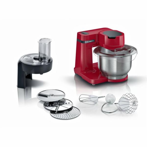 Bosch Serie 2 MUM food processor 700 W 3.8 L Red