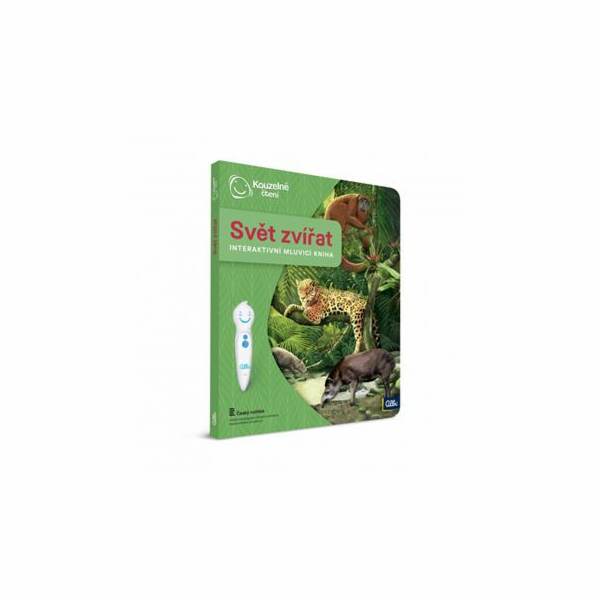 Kniha Albi Kouzelné čtení Svět zvířat