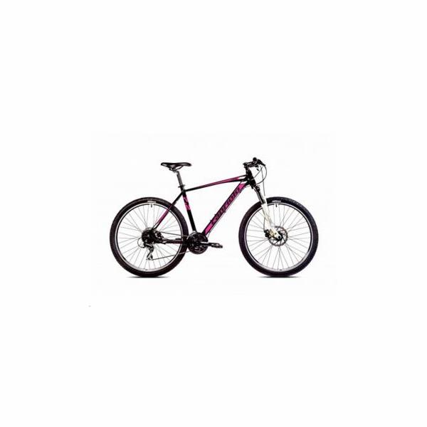 """Horské jízdní kolo Capriolo LEVEL 7.2 27,5""""/19AL černo-růžová"""