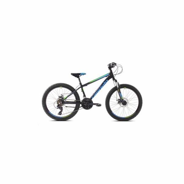 Horské jízdní kolo Capriolo ZED 24HT black green (2020)