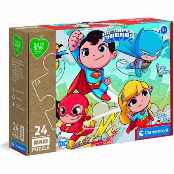 Puzzle 24 elementy Maxi Play For Future - DC Super Friends