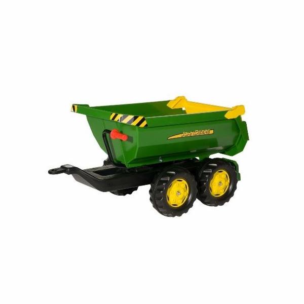 Vozík Rolly Toys John Deere Halfpipe 122165