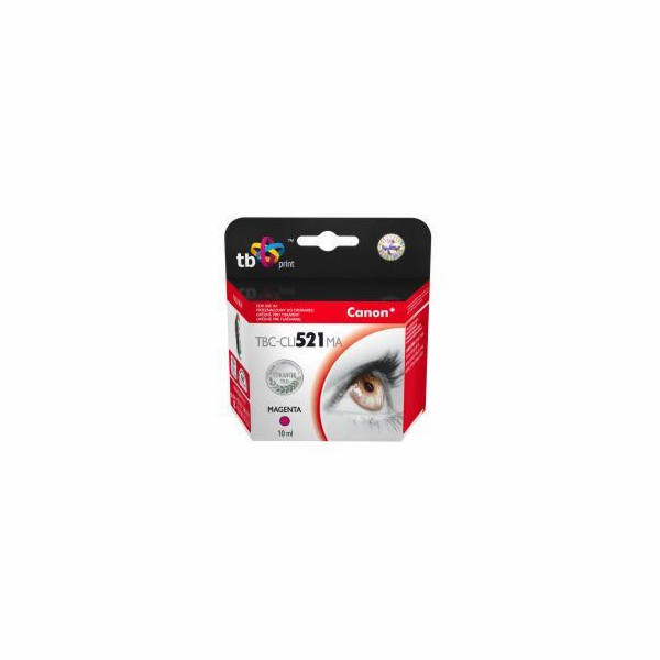 ACJ Ink cartridge Canon CLI-521M (WITH CHIP) ACC-521M